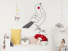 Autocolante Pássaro Bonito