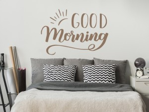 Autocolante Good Morning