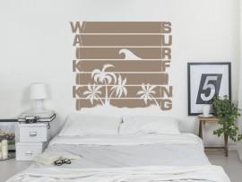 Autocolante Vinil Waikiki Surf