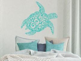 Autocolante Tartaruga Surf
