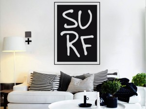 Autocolante  Surf Logotipo 2