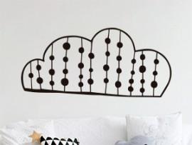 Autocolante Nuvem Abstrato 2