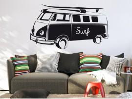 Autocolante Vinil Van VW Surf