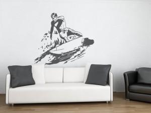 Autocolante Surfer