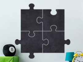 Autocolante Árdosia Puzzle