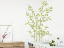 autocolante vinil bambu 6 zen