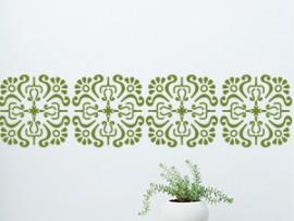autocolante faixa barroco oriental friso