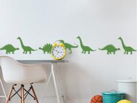 autocolante vinil faixa dinossauros  friso dino