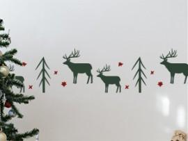 autocolante vinil faixa cervo natal friso