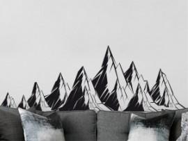 Autocolante Montanhas