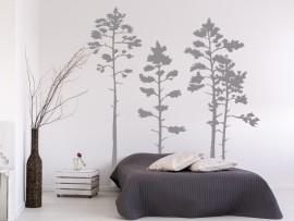 Autocolante Árvores Floresta