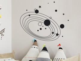 Autocolante Via Láctea Espaço