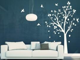 Autocolante Árvore Pássaros 3