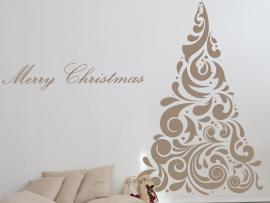 Autocolante Árvore de Natal Barroco 4