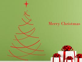 Autocolante Árvore de Natal Clássico
