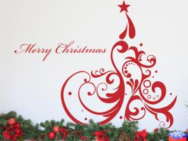 Autocolante Árvore de Natal Luxo