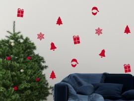 Autocolante Pack Decorativo de Natal