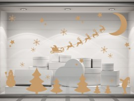 Autocolante Pack Decorativo de Natal 2