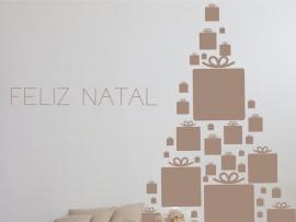 Autocolante Árvore de Natal Presentes 3