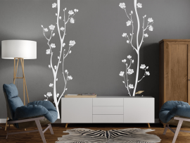 Autocolante Flores de Cerejeira