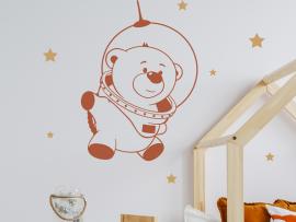 Autocolante Cosmonauta Urso