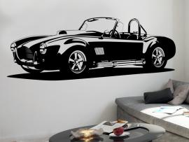 Autocolante Carro Shelby AC Cobra