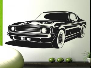 Autocolante Carro Mustang