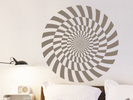 Autocolante espirale Ilusão 2
