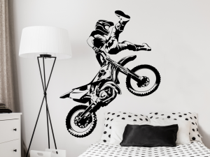 Autocolante Motocross Freestyle