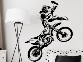 Autocolante Motocross Freestyle