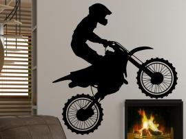 Autocolante Motocross 2