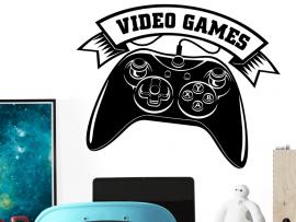 Autocolante Video Games