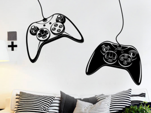 Autocolante Gamer Joystick