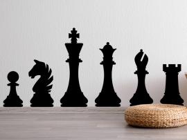 Autocolante Jogo de Xadrez
