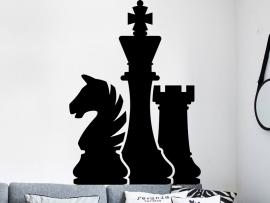 Autocolante Jogo de Xadrez 2