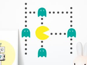 Autocolante Pacman