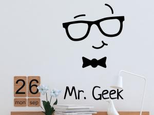 Autocolante Mr. Geek Game