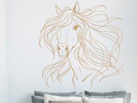 Autocolante Cavalo Elegante