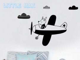Autocolante Pequeno Avião Infantil