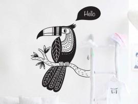 Autocolante Toucan Papagaio