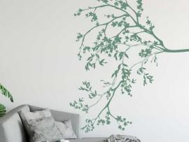 Autocolante Ramo Floral Cerejeira