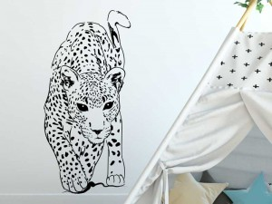 Autocolante Leopardo