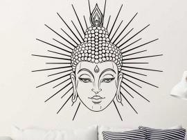 Autocolante Buda Sol
