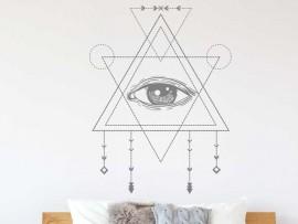 Autocolante Olho Sagrado