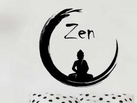 Autocolante Buda Zen