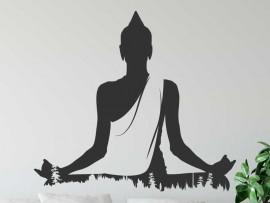 Autocolante Buda Natureza