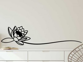Autocolante Flor de Lotus 2