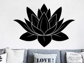 Autocolante Flor de Lotus 3