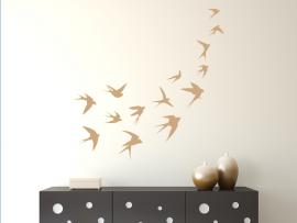 autocolante vinil voo das andorinhas