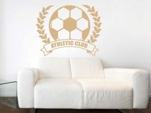 Autocolante Coroa de Futebol